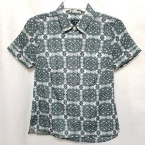 J Crew  Buttoned Down Collared Shirt Size 00